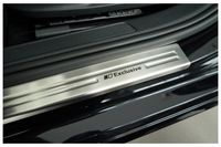 Edelstahl Exclusive Einstiegsleisten für VW Golf 7 Kombi Variant Limo Bj. 2012-, Farbe:Silber