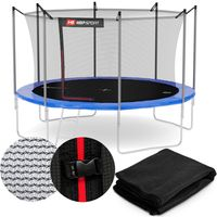 Hop-Sport Sicherheitsnetz 305 cm für 8 Stangen Ersatznetz innenliegend für Gartentrampolin 3,05m Trampolinnetz 10FT Ersatzteil Innennetz
