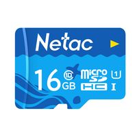 Netac 16 GB TF-Karte Micro SD-Karte mit grosser Kapazitaet UHS-1 Class10 Hochgeschwindigkeits-Speicherkarte Kamera Dashcam ueberwacht Micro SD-Karte