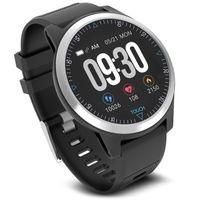 Smartwatch Smartband Fitness Tracker Bluetooth Blutdruck Herzfrequenz EKG PFG App IP67 Schwarz PR-510