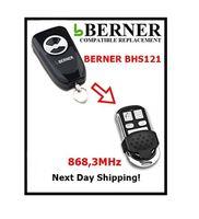 Berner bhs121 Kompatible Ersatz-Fernbedienung für Garage Tor Automatisierung 868,3 MHz