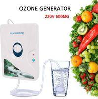 8W Wasser Luftreiniger Ozon Generator Ozongerät Ozonisator Lebensmittel Sterilisator 600mg/h 220VAC EU