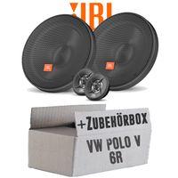 Lautsprecher Boxen JBL 16,5cm System Auto Einbausatz - Einbauset für VW Polo 6R Front Heck - justSOUND