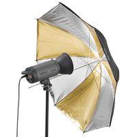 Walimex pro Reflexschirm Dual gold/silber,109cm