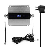 LCD GSM900MHz Handy Signal Booster Handy Signal Repeater Signalverstaerker Set mit Saugerantenne
