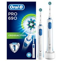 Oral B Zahnbürste Pro 690 Limitierte Edition mit Timer inkl. 2 Zahnbürsten