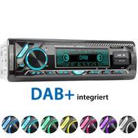 XOMAX XM-RD276: 1DIN, Autoradio mit DAB+, Bluetooth, USB, AUX IN, ohne Laufwerk