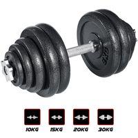 arteesol 30KG Hantelset, Gusseisen Kurzhanteln Set, Hanteln Gewichte 4x5kg +2x2.5kg +2x1.25kg +2x0.5kg