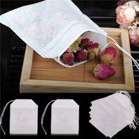Non-Woven Fabrics leere Teebeutel mit String Heal Filter Papier, 100pcs