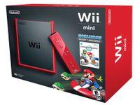 Nintendo Wii Mini + Mario Kart, Gamepad, Joystick