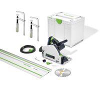 Festool Tauchsäge-Set TS 55 FQ PLUS FS 1400/2 2x FSZ 120 Systainer