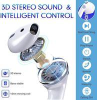 Kabellose In-Ear-Kopfhörer Bluetooth 5.0 Headsets, Wasserdicht (IPX5) Bass 3D Stereo Sport Mic Headset 40H Musik Freisprechanlage für Apple iPhone / Android / Airpods / AirPods Pro