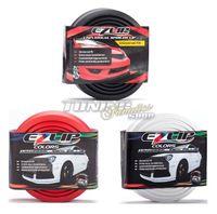 EZ-LIP Spoiler Spoilerlippe Gummi Lippe Frontspoiler für viele Fahrzeuge, Farbe:Schwarz