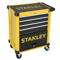 STANLEY STMT1-74305 Werkstattwagen mit 4 Schubladen - verschließbarer Werkzeugwagen auf Rollen - Gesamtbelastbarkeit bis 300 kg