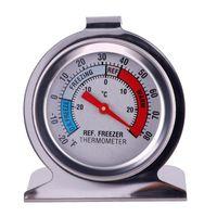 Edelstahl Kühlschrank Mit Gefrierfach Thermometer Edelstahl Zifferblatt Dail TypeType Kühlschrank Temperatur Messen Werkzeug