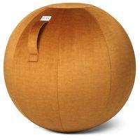 VLUV Sitzball Gymnastikball Bürostuhl VARM Pumpkin Größe Ø 60-65cm mit Pumpe