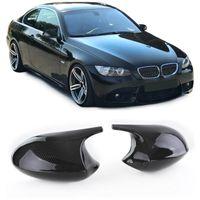 Carbon Spiegelkappen Sport zum Austausch für BMW 3er E92 Coupe E93 Cabrio 06-10