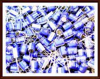 10x Elektrolyt-Kondensator 220µF 35V 85° Elko stehend 13x10 RM5 Samwha  #703740