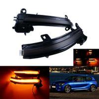 2x Für BMW F20 F21 F30 F31 F33 F34 E84 X1 LED Dynamische Außenspiegel Spiegelblinker 63137280771, 63137280772