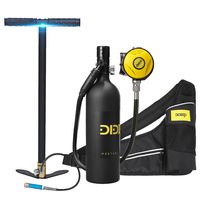 dideep 1L Tauchausrüstung Sauerstoffflasche Unterwasseratemgerät Tasche