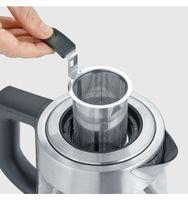 SEVERIN Tee-/ Wasserkocher WK 3473 DELUXE Glas / Edelstahl