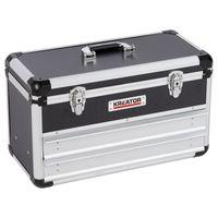 Werkzeugkoffer leer, 2 integrierte Schubladen