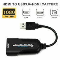 Video Capture Card 4K HDMI zu USB3.0 60 FPS Recorder Grabber Videoaufnahme Game Live-Streaming