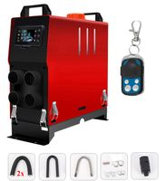 5KW 24V Standheizung Integration LCD Mit Fernbedienung Diesel Luftheizung PKW