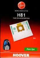 Hoover H81 Pure Epa Staubsaugerbeutel, Staubbeutel für Telios Extra - Nr.: 35601865