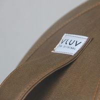 VLUV - VEEL Kunstleder-Sitzball in verschiedenen Ausführungen erhältlich 70-75cm Durchmesser Cognac