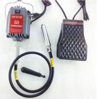 Topchances Pro FOREDOM Fräsmotor zum Aufhängen (S-R) mit flexibler Welle für Schmuckbearbeitung- und Reparatur, EU-Steckdose, 220 V, 230 W, 6 mm