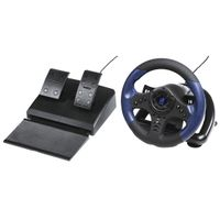 Hama GripZ 500 - Steuerrad - PC - 180° - Verkabelt - USB - Schwarz - Blau Hama