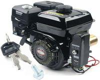 7.5PS 4-Takt Benzinmotor Standmotor Kartmotor 3600rpm Elektrischer Start Seitenwellen Motor 212CC für Kompressor,Vertikutierer,Rasenmäher,Schlegelmäher