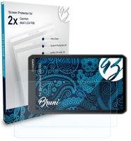 Bruni Basics-Clear 2x Schutzfolie kompatibel mit Garmin dezl LGV700 Folie