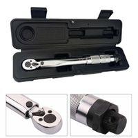 1/4 Drehmomentschlüssel, verstellbares Handwerkzeug, Vierkantantrieb, manuelles Ratschenwerkzeug mit einem Klick