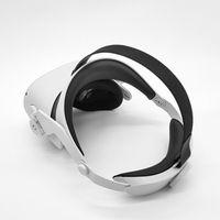 Komfortable Virtual Reality Brille Stirnband Verstellbarer Kopfgurt für Oculus Quest2 VR Brille Zubehör