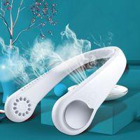 USB Hals Ventilator mit 360 ° Luftstrom , Portable Kleiner Lüfter Perfekt für Kinder, Büro, Reisen, Sport, Haushalt, Outdoor und Geschenk