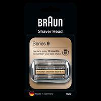 Braun 92S, Silber, Kunststoff, Metall, Deutschland, geschikt voor 9299s, 9296cc, 9295cc, 9291cc, 9290cc, 9280cc, 9260s, 9240s, 9090cc, 9095cc, 9075cc,..., 18 g, 22 mm