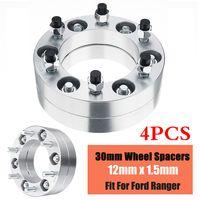 4x 30mm Spurverbreiterung 6x140mm Spurplatten Set Für Ford Ranger MK 6 Studfitment
