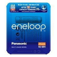 Panasonic eneloop Akku AAA - eneloop storage case - 4 pieces (BK-4MCCE/4LE)