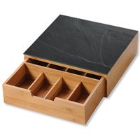 KESPER Teebox- / Kapselspender-Box mit Schublade 58951