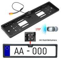 Funk 170° IR LED Rückfahrkamera kennzeichen kabellos Nummernschild Einparkhilfe