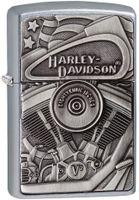 ZIPPO ® Feuerzeug 60002815 Harley Davidson Emblem Trick