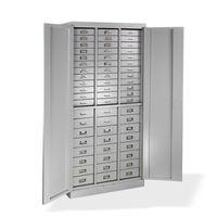 ADB Metall Schubladen-Schrank Werkzeug Materialschrank 60 Fächer 1790x800x410 mm
