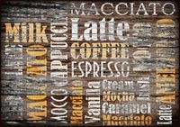 Tischset Platzset Platzdeckchen Kaffee Café PVC Kunststoff 28x43 cm