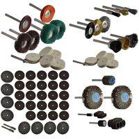 84 tlg Multi-Tool-Geräte Zubehör Schleif- Polier- Trennset Aufnahme 3,15mm Minischleifer