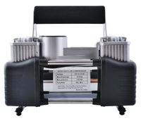 Auto Luft Kompressor Doppelzylinder 12V Pumpe Doppelkolben #4061