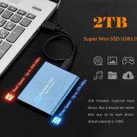 Miixia Portable 2TB USB 3.0 Externe Festplatte Festplatten SATA SSD für PC Laptop