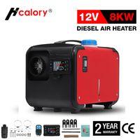 HCalory 5-8KW Einstellbar 12V Air Heater Diesel Standheizung Luftheizung Heizung für PKW LKW mit LCD Schalte
