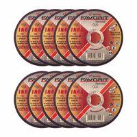 Toroflex FAVORIT Trennscheibe Inox - F41 gerade - Trenn-Scheiben - diverse Durchmesser - 10 Stück Größe:115 x 1.0 x 22.2 mm